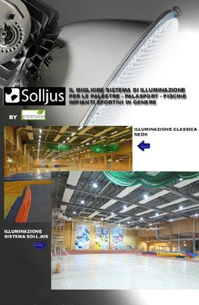 Illuminazione Palestre – Palasport – Piscine – Impianti Sportivi